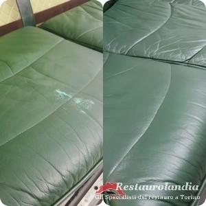 riparazione pelle divano
