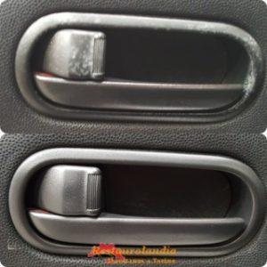 verniciatura plastica maniglie auto