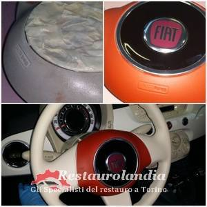 Verniciatura volante auto airbag