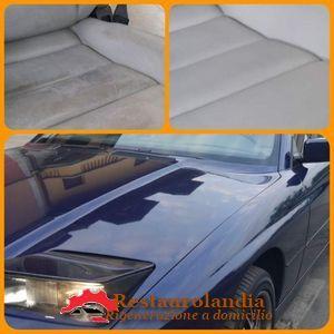 Restauro interni auto Bmw classica
