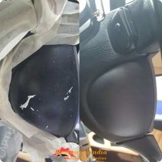 Restauro plastica volante Maserati